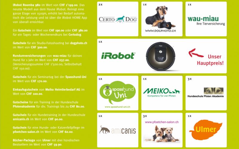 Gewinner Wettbewerb Hundemesse 2016