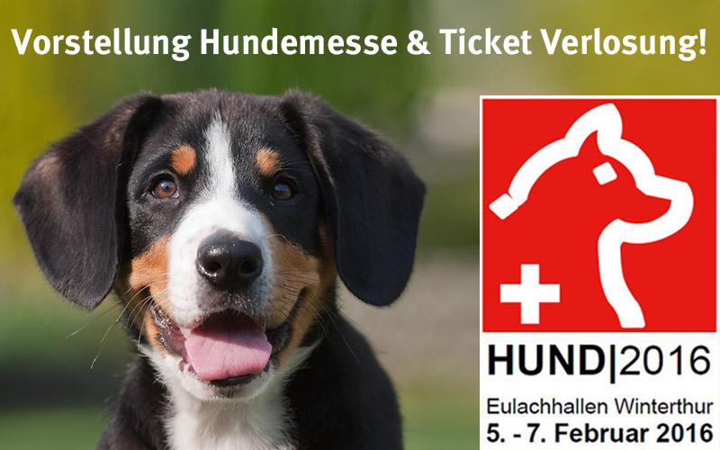 Hundemesse 2016 und Ticket Verlosung!