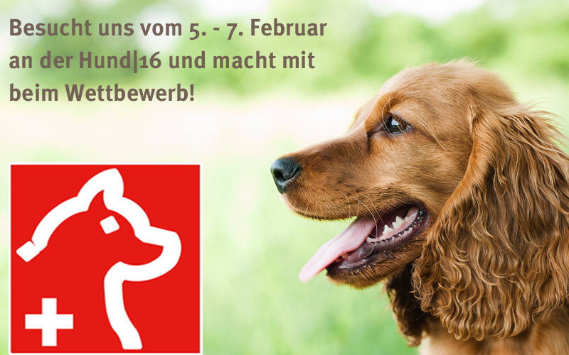 Hundemesse - Hundeherz.ch ist dabei!
